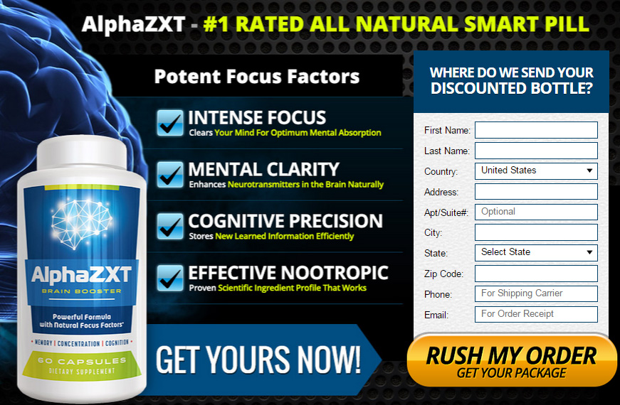 Alpha ZXT Brain Booster Buy & Trial Offer